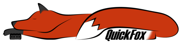 A 2d representation of a sleeping fox.